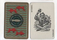 Collectible Advertising playing cards. British Anti-fouling compositions.